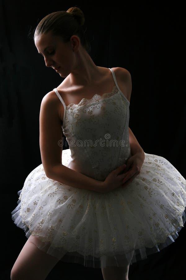 Ballerina In Shadow #2 stock images