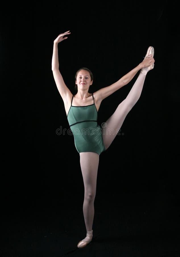 Ballerina su un piedino fotografie stock libere da diritti