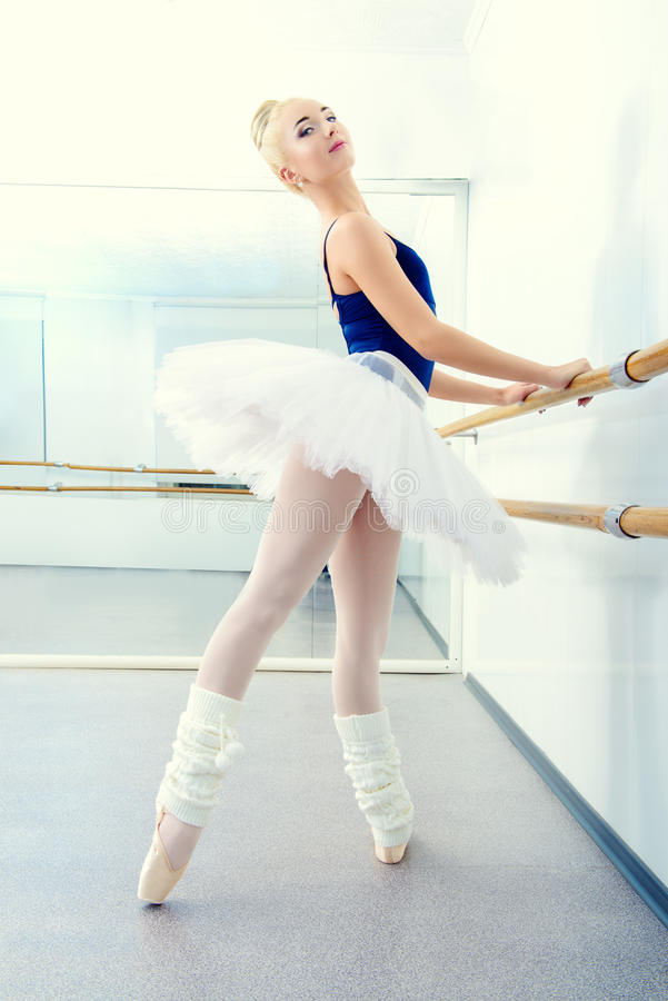 Ballerina in tutu stock images
