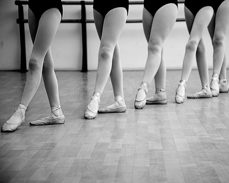 Ballerinabenen royalty-vrije stock afbeelding