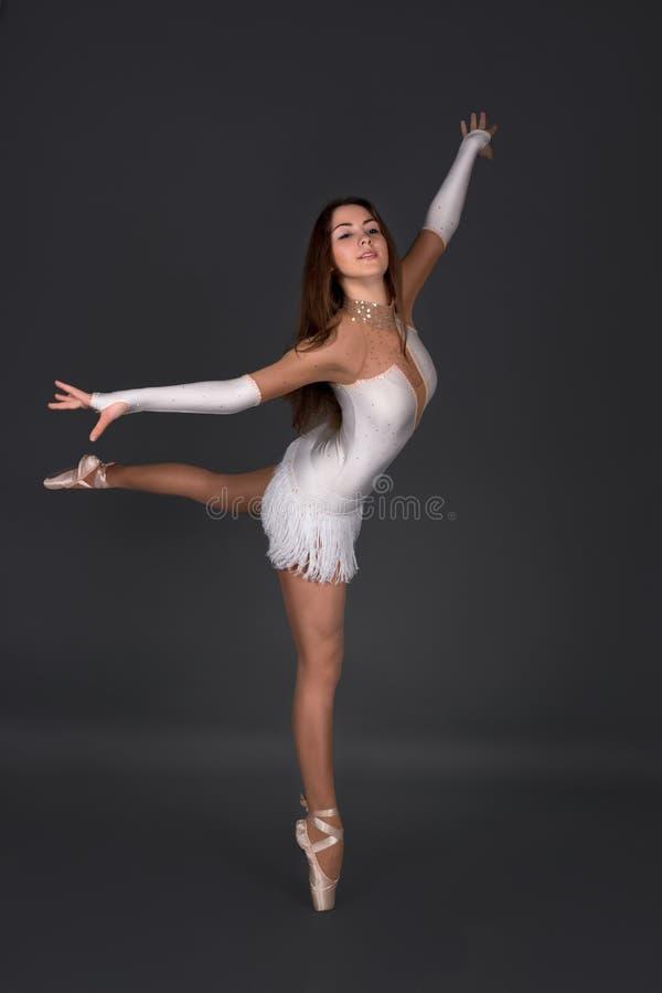 Ballerinadanserna royaltyfria bilder