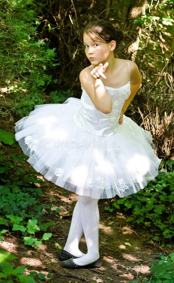 ballerinaen är kan dig royaltyfri foto