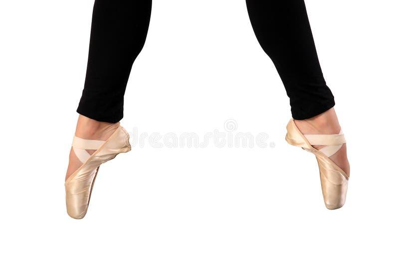 Ballerinafüße lizenzfreies stockbild