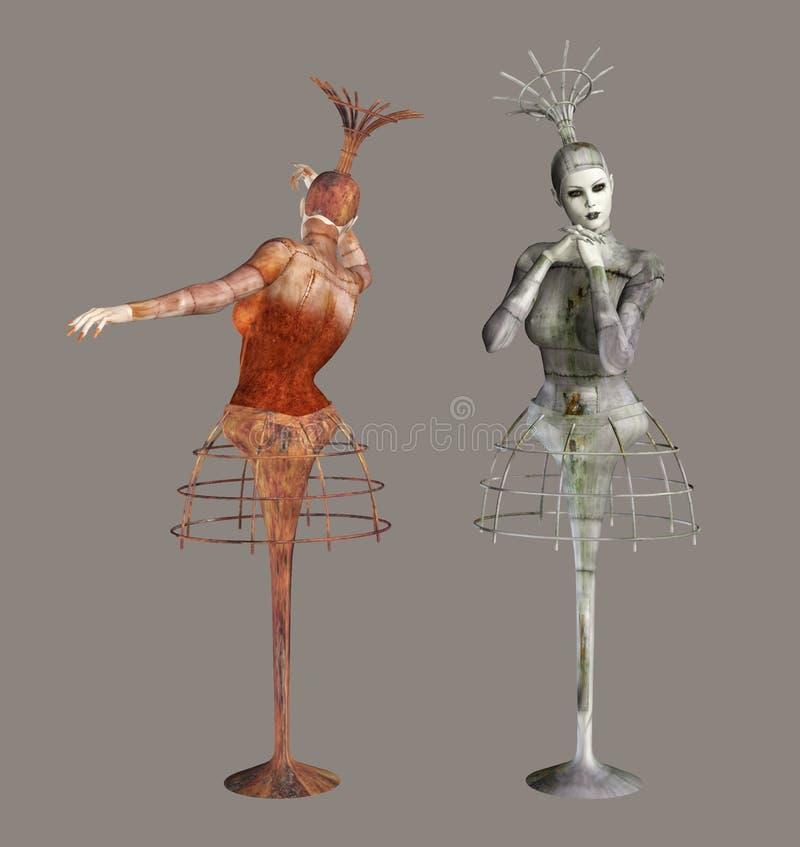 ballerinas φανταστικά ελεύθερη απεικόνιση δικαιώματος