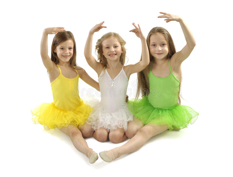Ballerinas royalty free stock images