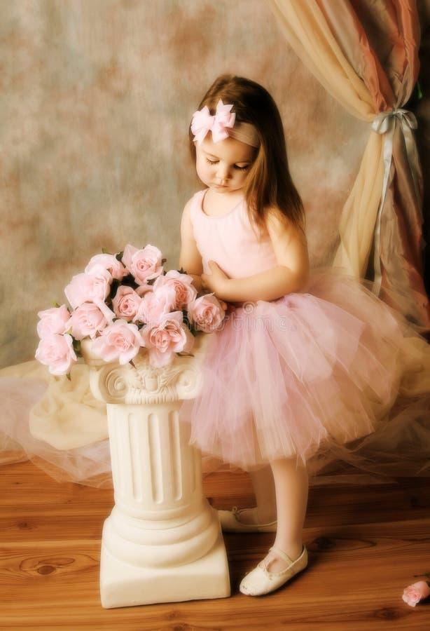 ballerinaskönhet little arkivbilder