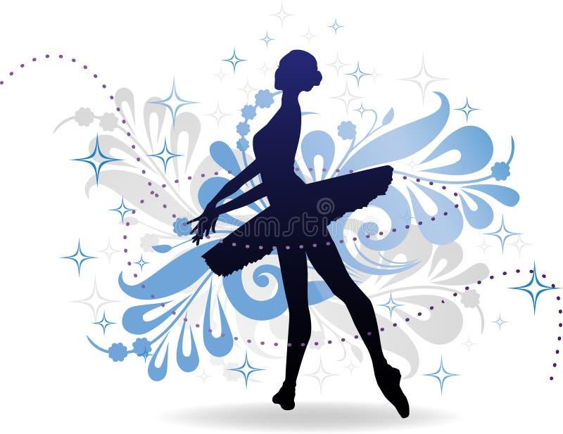 ballerine illustration libre de droits