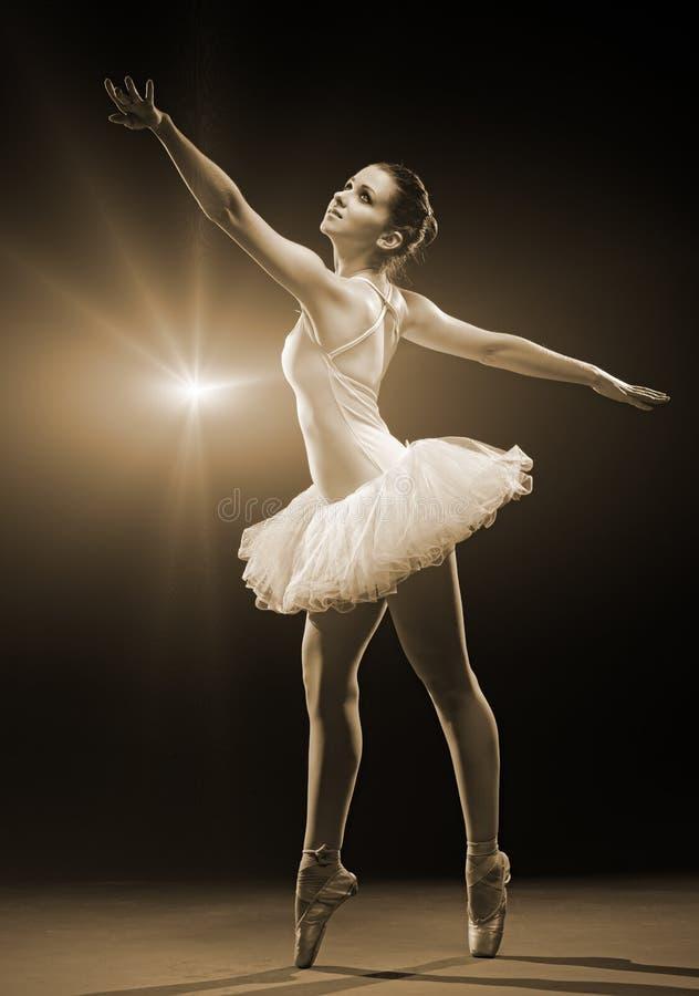 Ballerine-action photos libres de droits