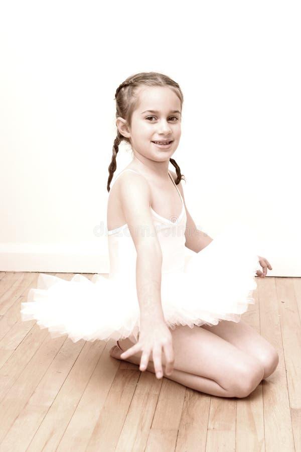 Ballerine assez jeune image libre de droits