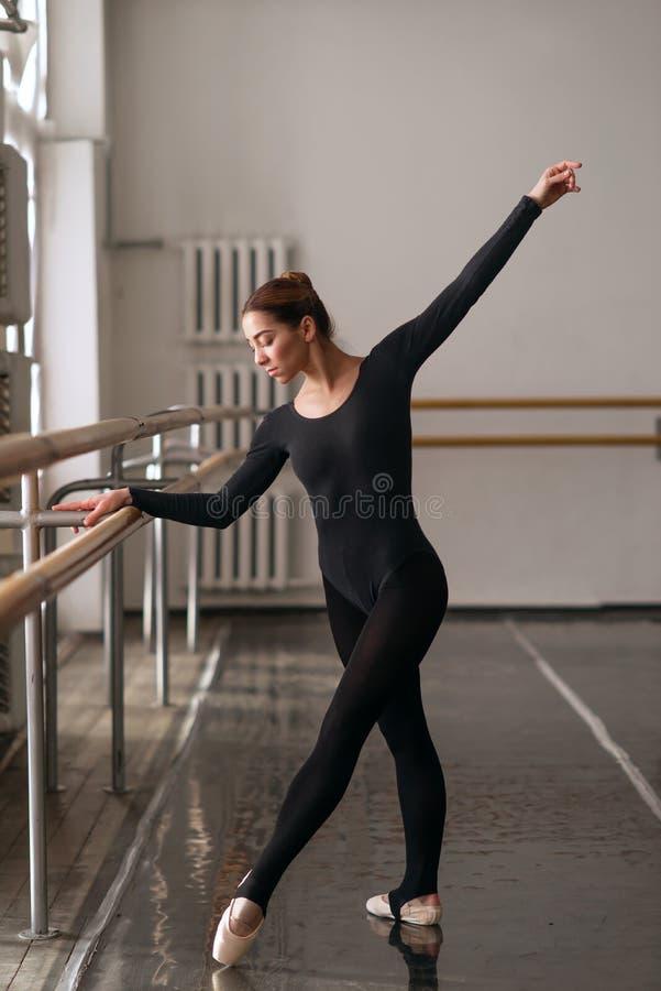 Download Ballerine De Compétence Posant Dans La Classe De Ballet Photo stock - Image du intérieur, gracieux: 87700092