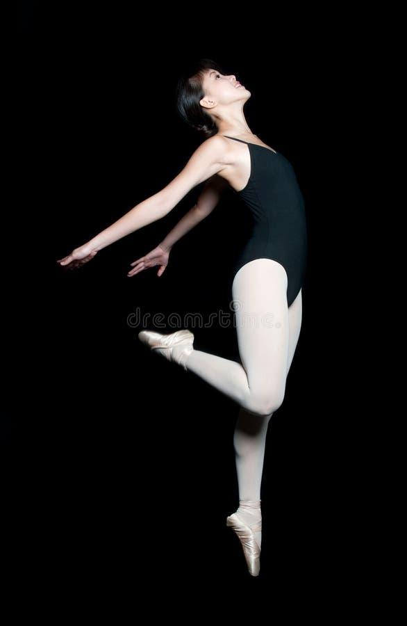 Ballerine féminine photo libre de droits