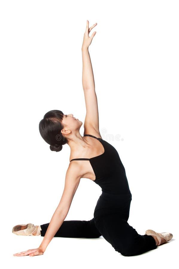 Ballerine féminine photographie stock libre de droits