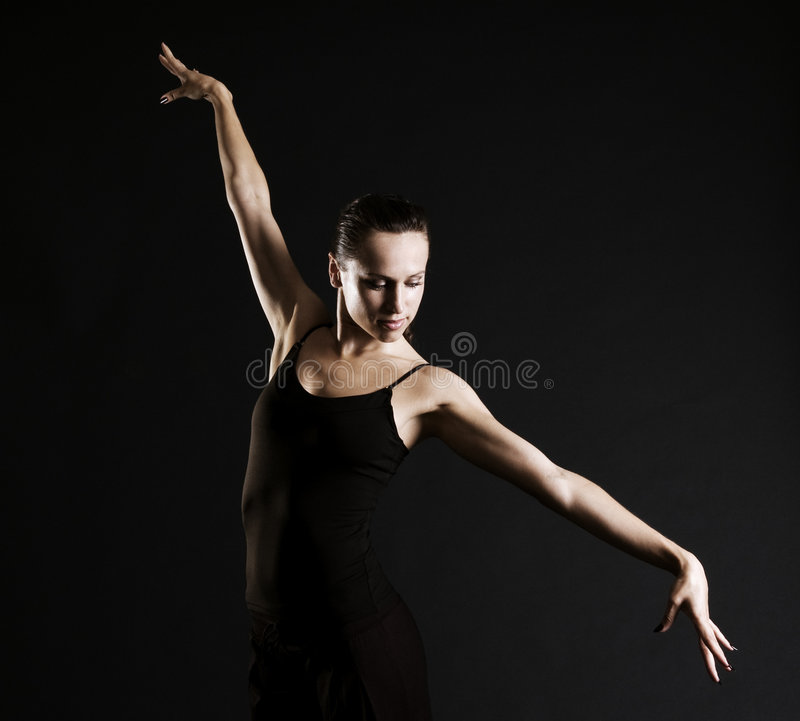 Ballerine gracieuse photo stock
