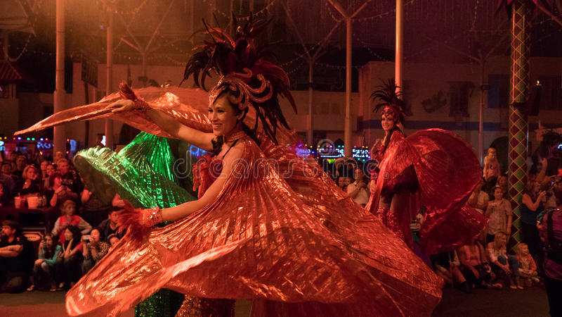 Ballerini di carnevale fotografia stock libera da diritti
