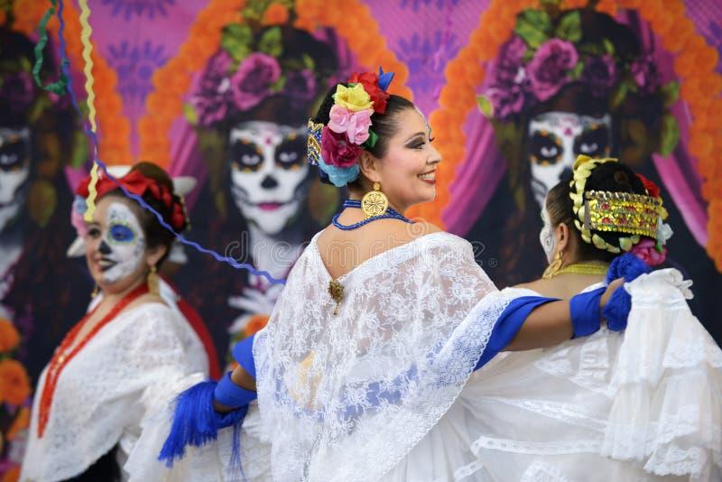 Ballerini folclorici immagine stock