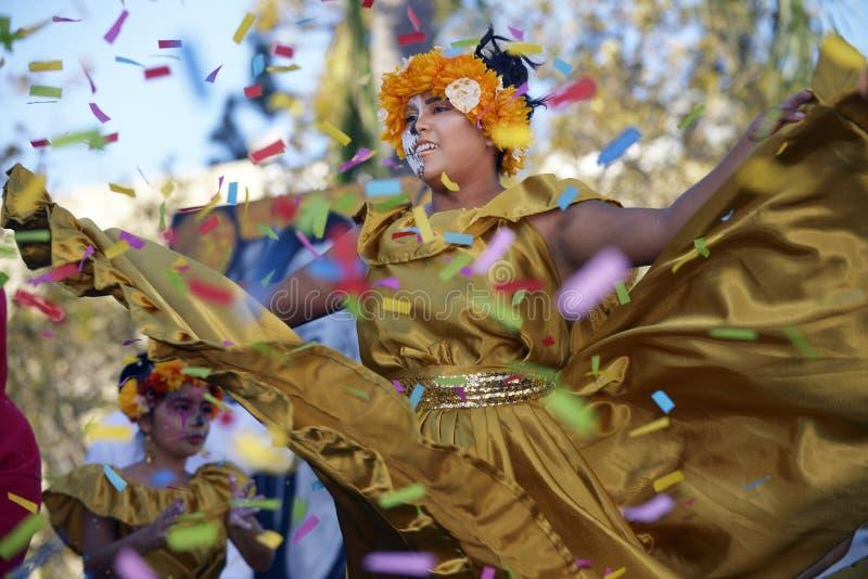 Ballerino di Folklorico fotografie stock libere da diritti