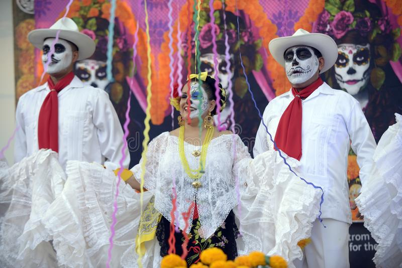 Ballerino di Folklorico fotografia stock