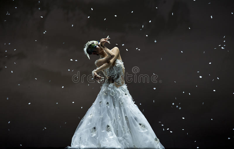 Ballerino famoso Yang Liping di cinese fotografia stock