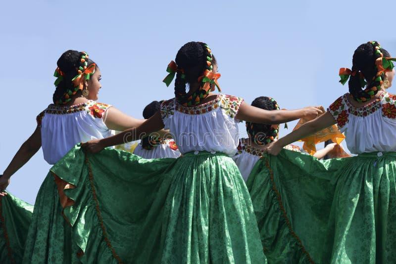 Ballerino folclorico immagini stock