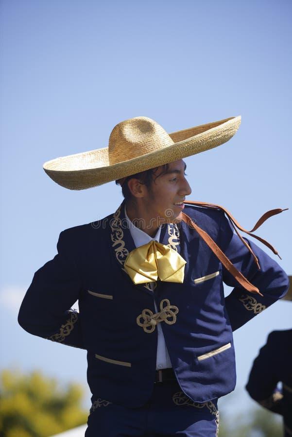 Ballerino folclorico fotografie stock libere da diritti