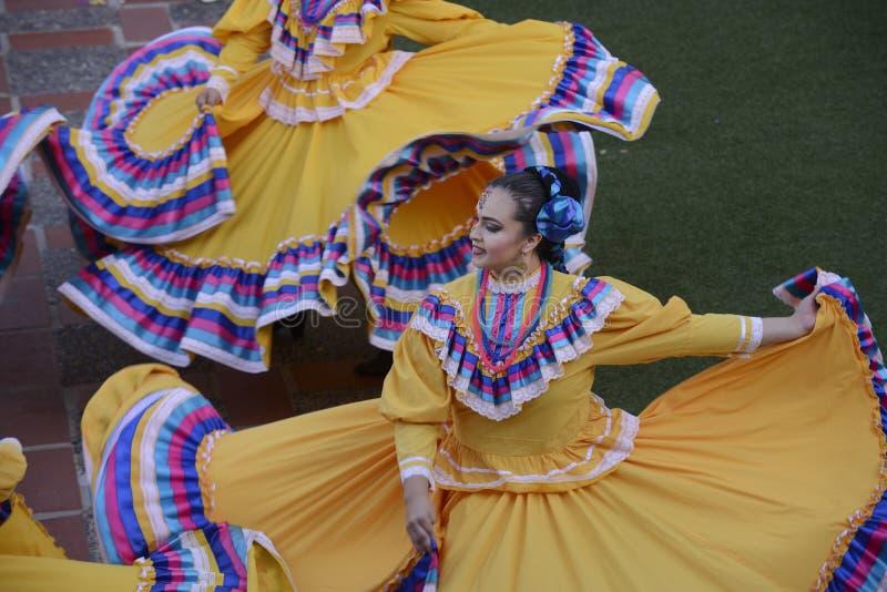 Ballerino folclorico messicano immagine stock libera da diritti