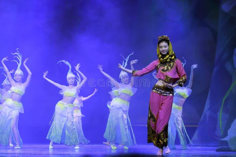 Ballerino tradizionale del sud di fujian fotografie stock libere da diritti