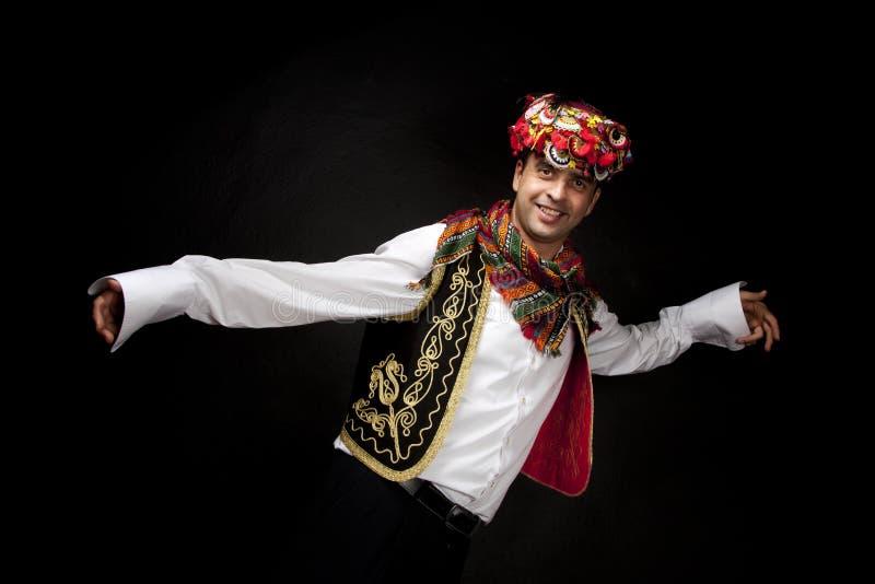 Ballerino tradizionale turco fotografia stock libera da diritti