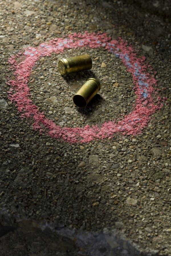 Balles au sol photographie stock libre de droits