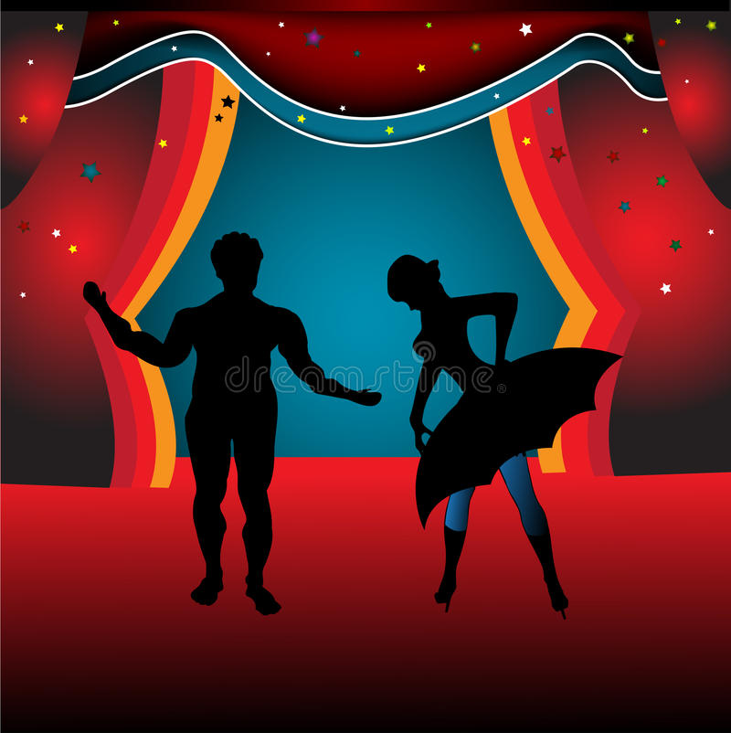 Ballet stock de ilustración