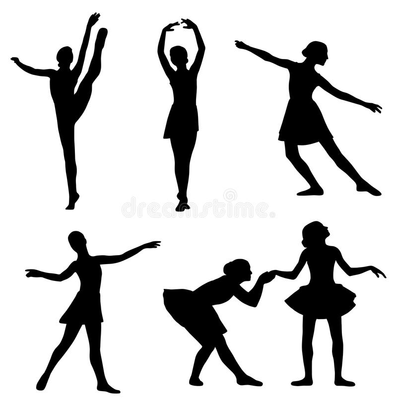 Ballet ilustración del vector