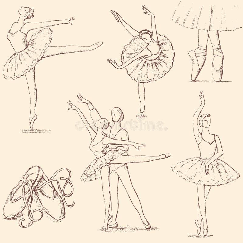 ballet royalty-vrije illustratie