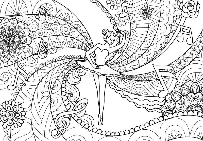 ballet ilustração royalty free
