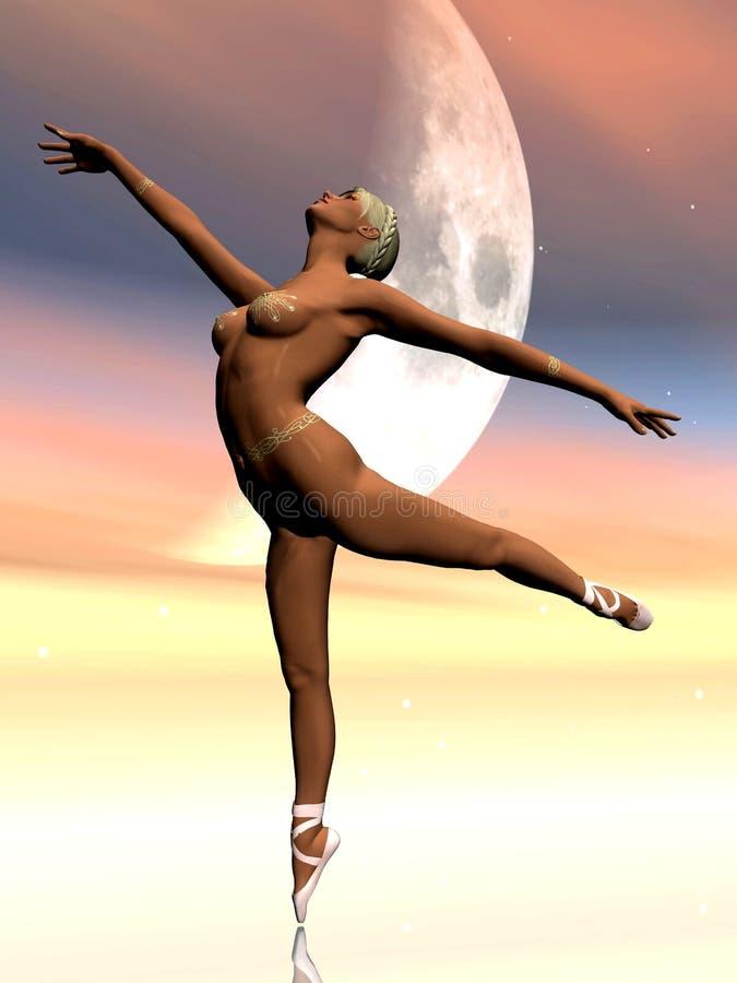 Ballet illustration libre de droits