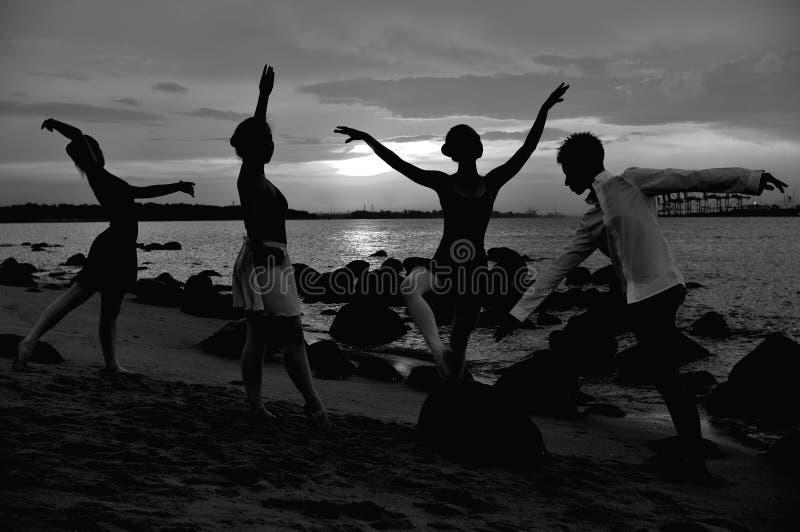 Ballet al aire libre fotografía de archivo libre de regalías