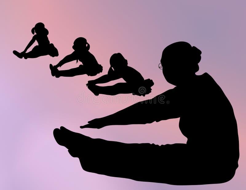 Ballet Class vector illustration