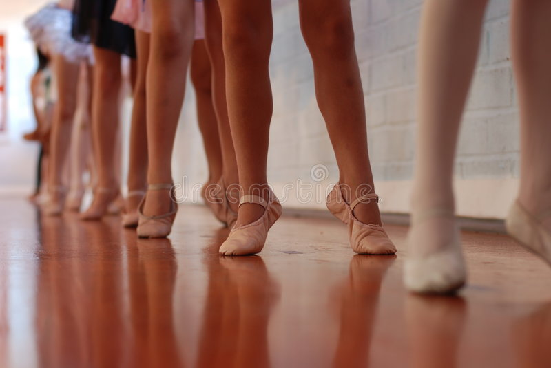 Download Ballet Class stock photo. Image of child, legs, feet, girl - 6672656