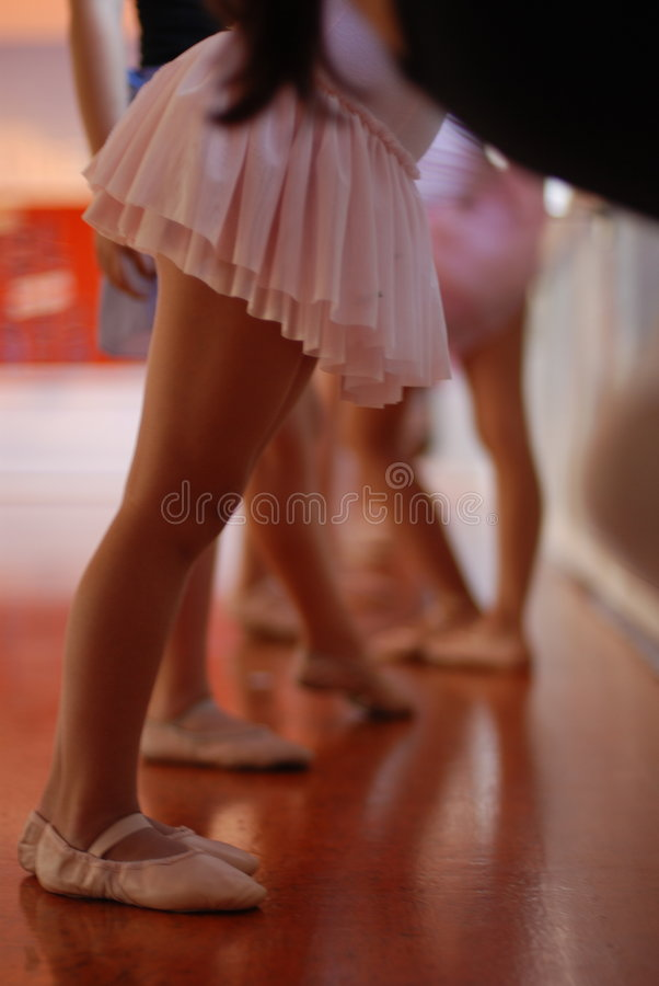 Ballet Class stock photo