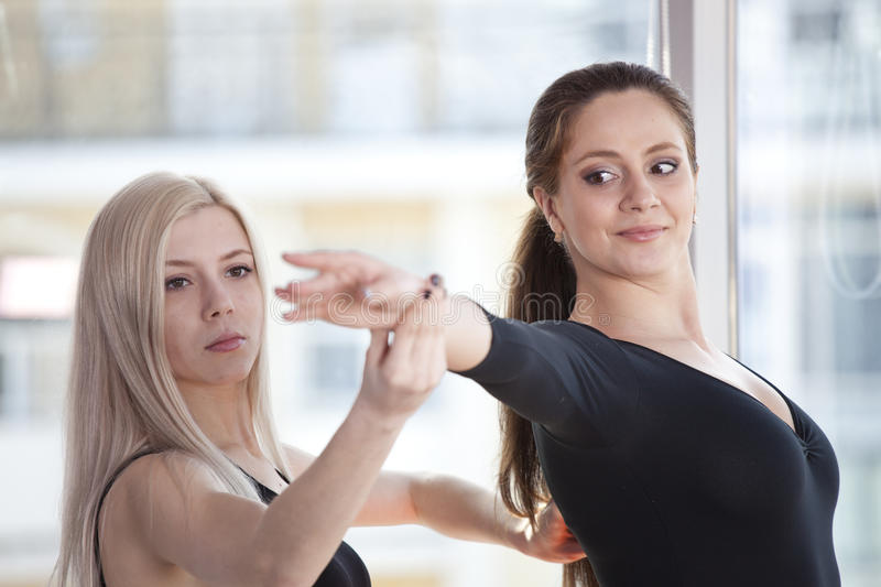 Ballet classes stock photography