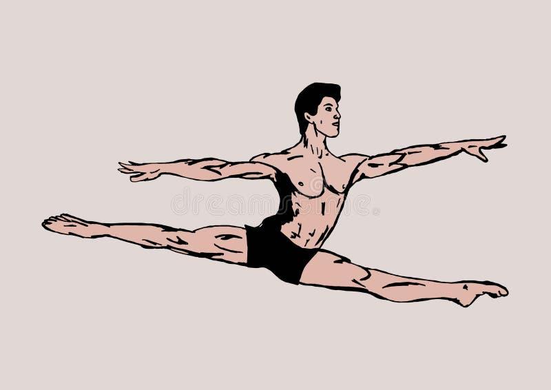 Ballet classique illustration de vecteur