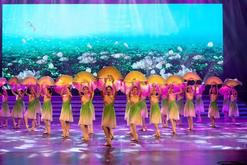 Ballet classique de Carol en mai - photo stock
