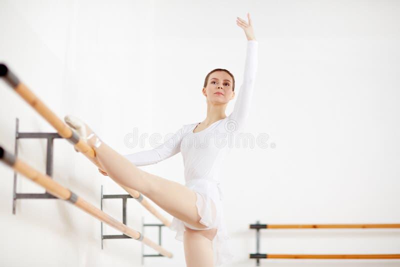 Ballet in classroom royalty free stock photos