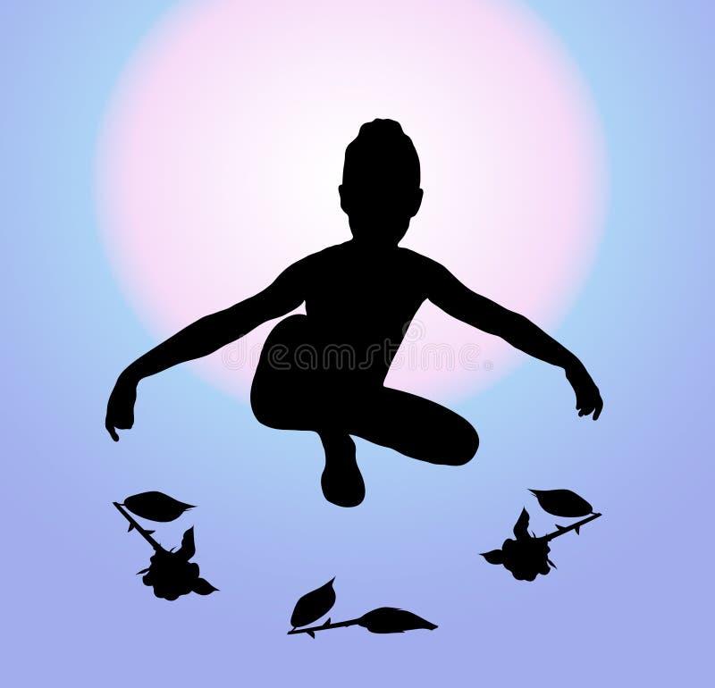 Ballet Curtsy 1 vector illustration