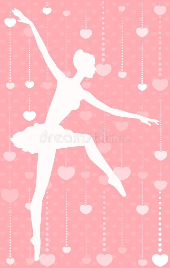 Download Ballet dancer stock vector. Image of orange, hand, woman - 15872024