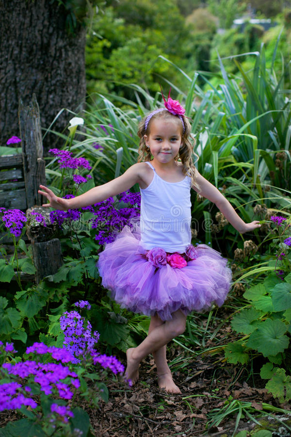Ballet dancer. stock photography