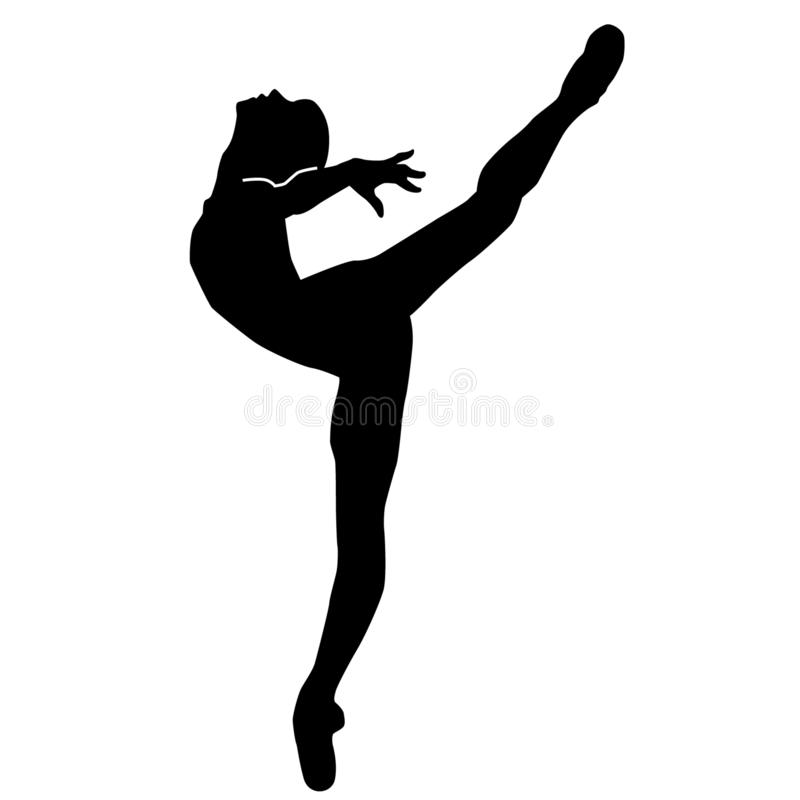 Ballet Dancer Silhouette By Crafteroks Stock Vector Illustration Of Crafteroks Icon 146402861