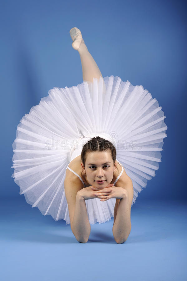 Download Ballet Dancer In White Tutu Stock Image - Image: 21294103
