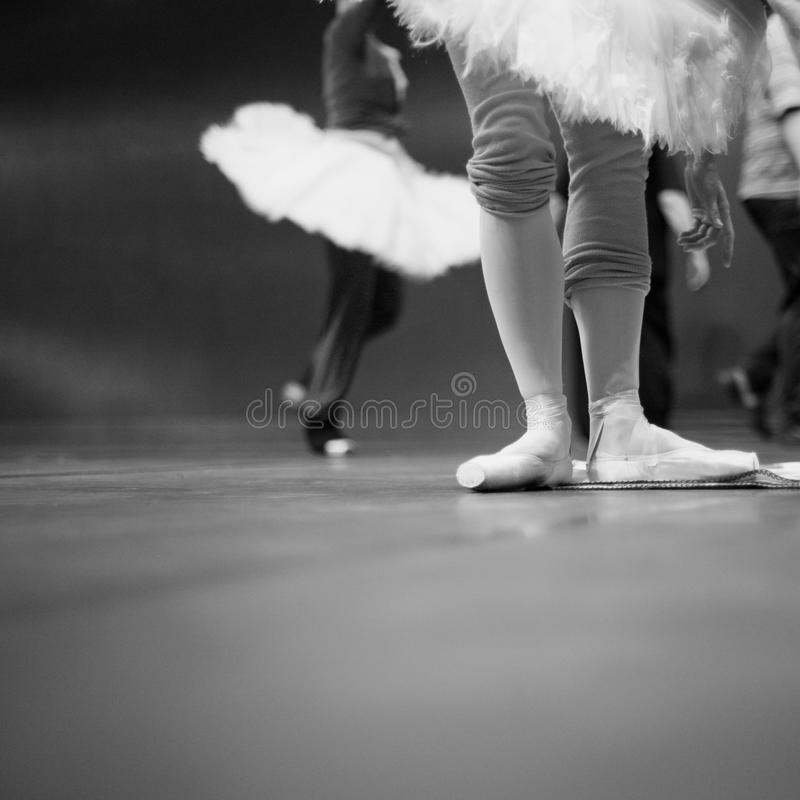 Free Ballet Dancers In Repetition Stock Image - 42905841