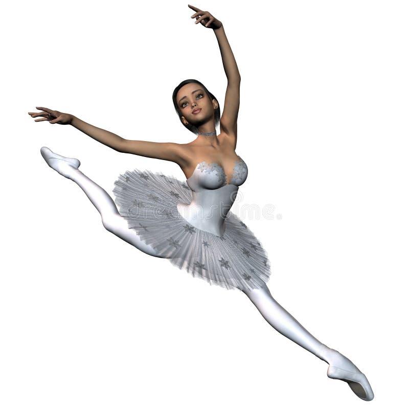 Ballet de flocon de neige - 1 illustration stock