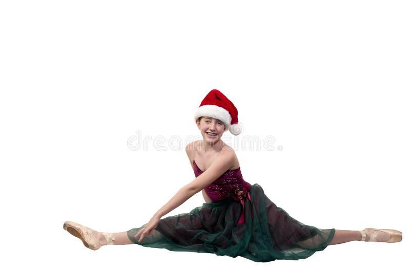 Ballet de Noël images libres de droits