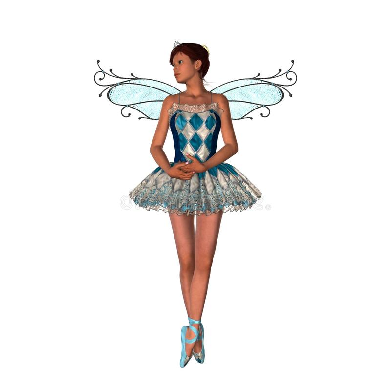 Ballet Faerie royalty free stock image